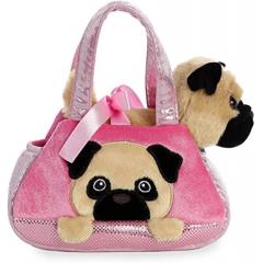 сумочка с собачкой, размер 19*16