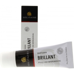 Solitaire Brillant creme, 75ml.,BLACK